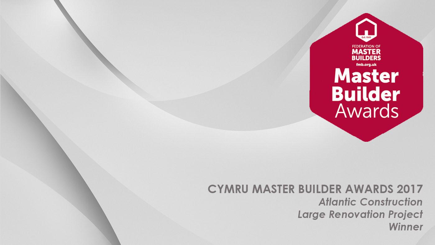 Master Builder Award winners 2017